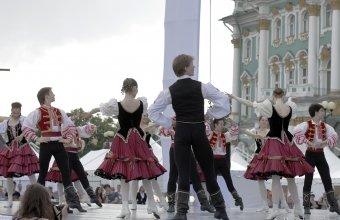 Репетиция гала-концерта День города 2014