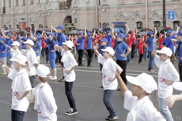 Танцующий Невский 25 мая 2014 фото