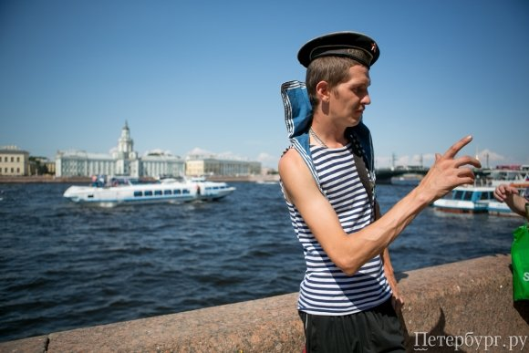 День ВМФ 2014 в Санкт-Петербурге