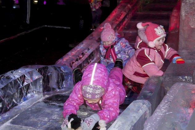 Выставке ледовых скульптур «Ледяная сказка»