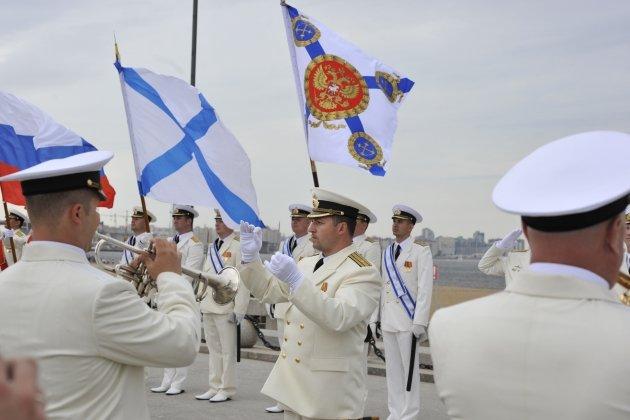 Праздничный концерт Духового оркестра Морского корпуса Петра Великого