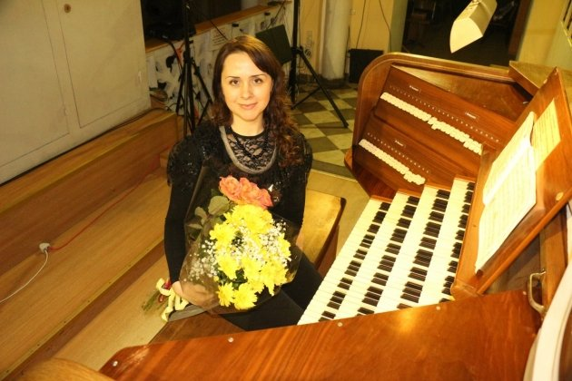 Концерт органной музыки «Возвышенное и земное»
