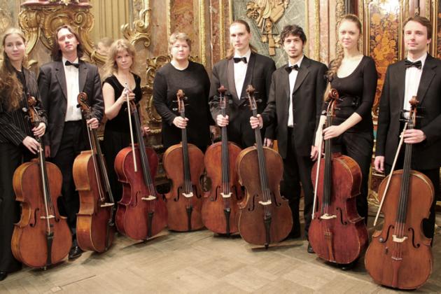Концерт ансамбля виолончелистов Санкт-Петербурга
