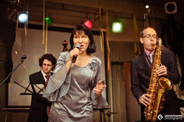 Концерт Петербургского джазового квинтета «Lady soul band»
