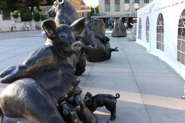 Выставка скульптора Тауно Кангро «Дикая жизнь живой природы»
