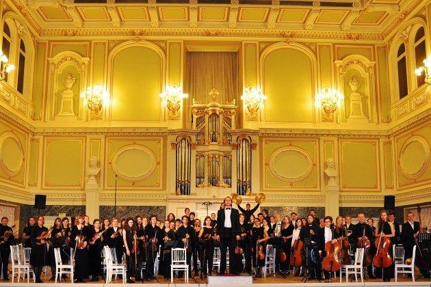 Концерт Симфонического оркестра музыкального колледжа им. М.П. Мусоргского.