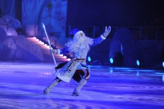 Новогодняя сказка на льду «12 месяцев»