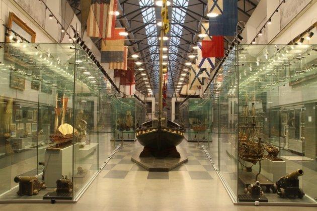Открытие выставки «Архитектура корабля. Корабельный декор XVIII – начала XX веков»