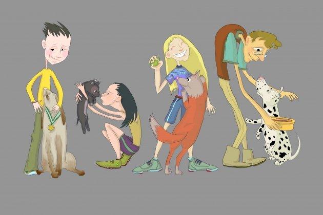 Выставка самых добрых иллюстраций «Друзья»