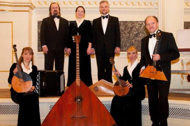 Фольклорный концерт Андреевского оркестра для детей и родителей