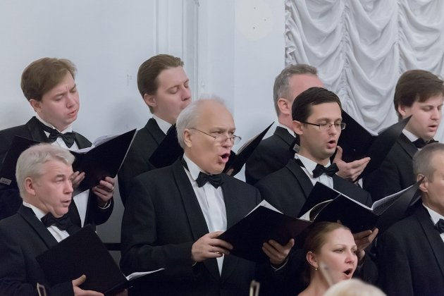 Органно-хоровой вечер