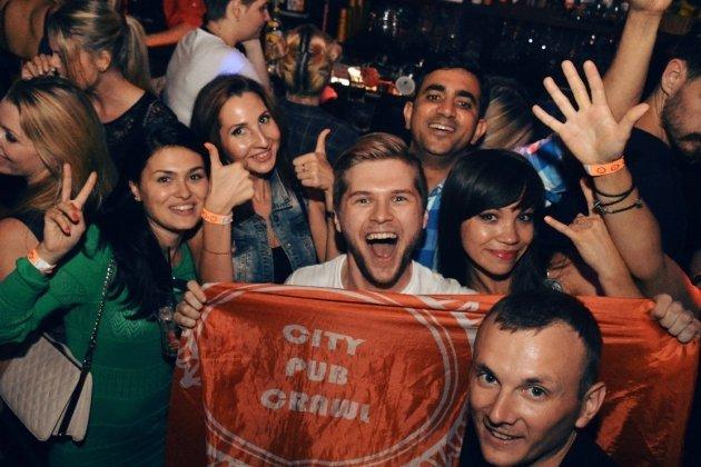 Тур по барам Санкт-Петербурга City Pub Crawl