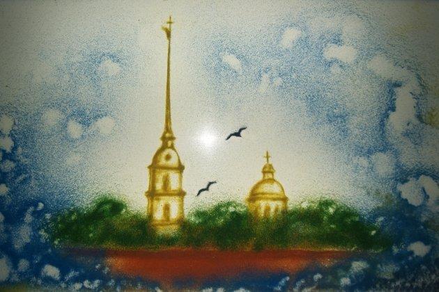 Шоу песочной анимации для детей и взрослых «Пушкин и Петербург»