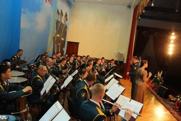 Концерт духового оркестра штаба Северо-Западного округа ВВ МВД России