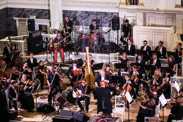 Концерт группы «Аквариум» в сопровождении симфонического оркестра