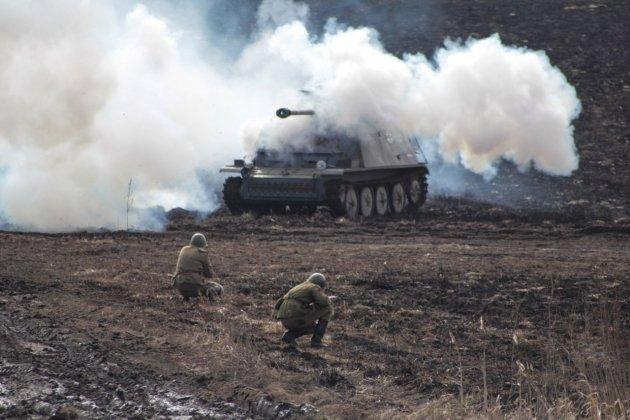 Второй танковый фестиваль «Боевая сталь»