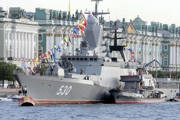 День ВМФ в 2015 году в Санкт-Петербурге