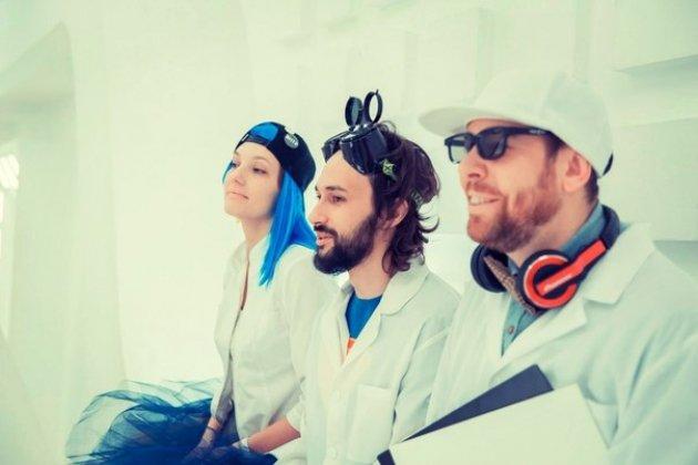 Презентация второго альбома группы НТР (Научно-Технический Рэп)