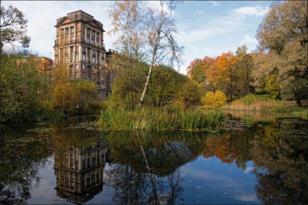 Парк лесотехнической академии