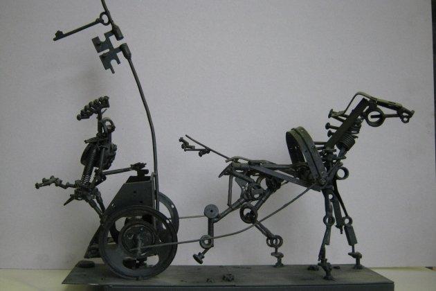 Выставка скульптора Ахнафа Зиякаева «Звуки моей души»