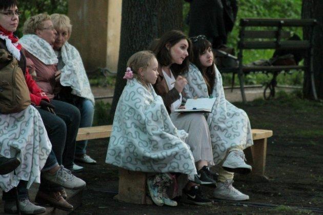 Вечер польского кино в Саду Фонтанного дома
