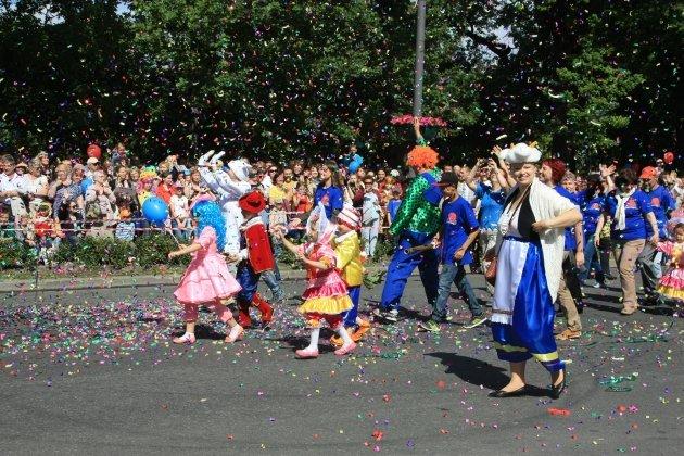 Празднование Дня города в Пушкине