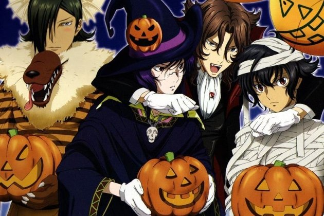 Вечеринка Anime Halloween