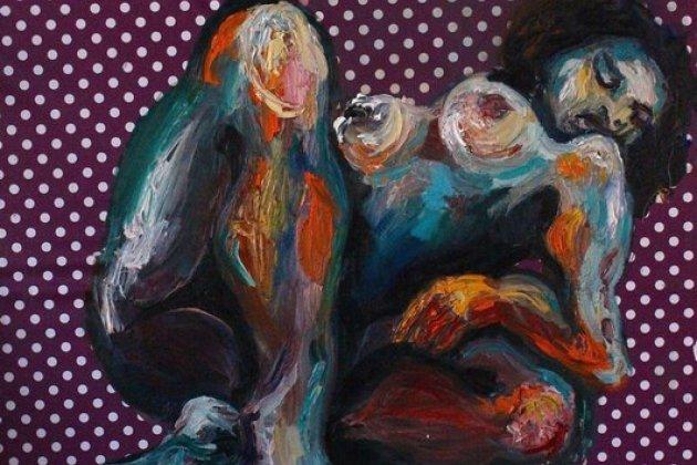 Выставка Кати Грановой «Клеенки»