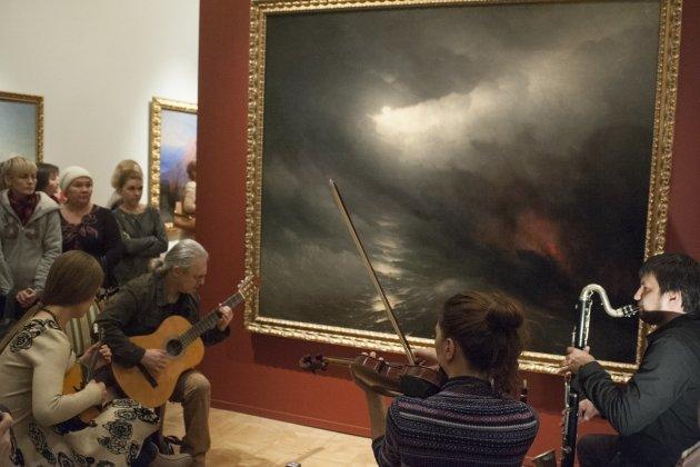 Игорь Баскин и «D-sound project» на экспозиции «Музей Людвига в Русском музее»