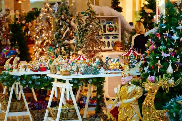Новогодний базар в ТРК «Адмирал»
