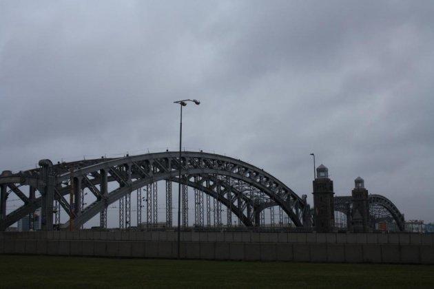 Большеохтинский мост в Санкт Петербурге история