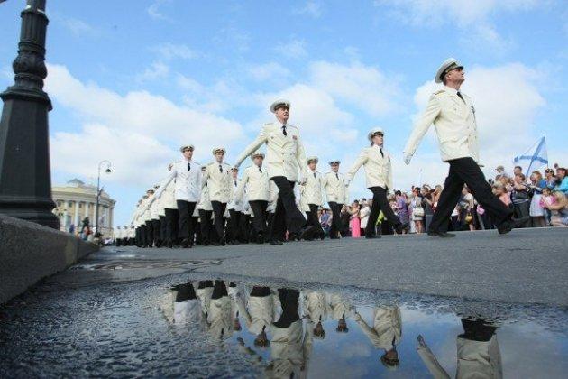 День ВМФ в 2015 году в Санкт-Петербурге 26 июля
