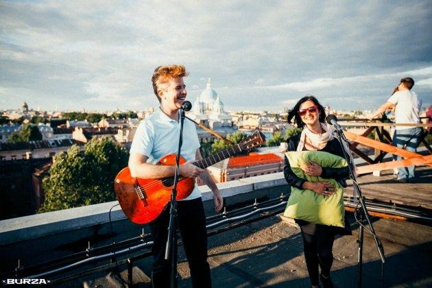 Концерт Дэвида Браун (Brazzaville) и Жени Любич