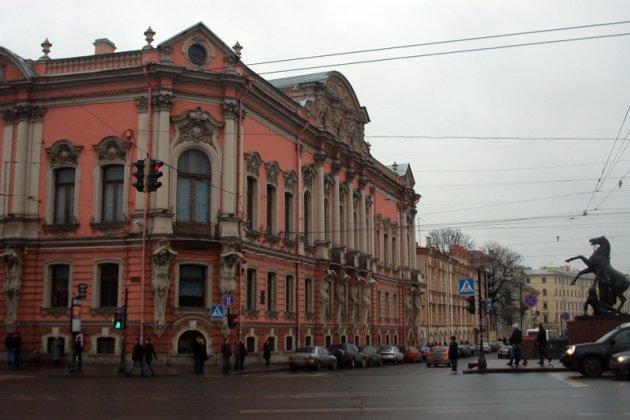 Дворец белосельских белозерских в петербурге