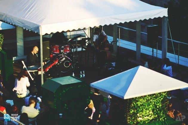 Концерт International Jazz band в рамках фестиваля Roof Music Fest