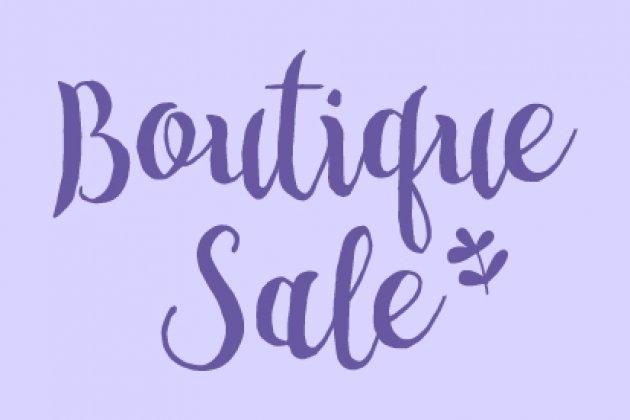 Благотворительный Boutique sale