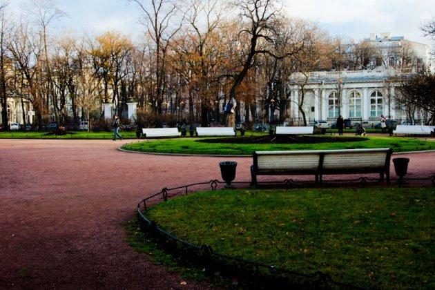 Екатерининский сад в Спб