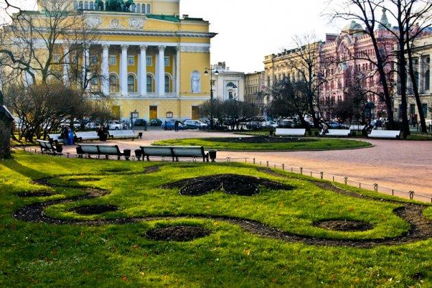 Екатерининский сад в Санкт Петербурге