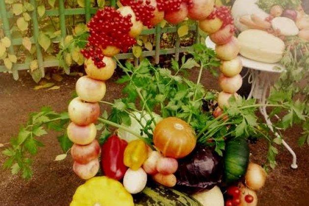 На празднике закрытия фонтанов в Летнем саду соберут картину из фруктов и овощей