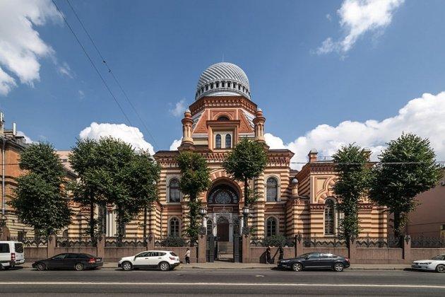 Ночь открытых дверей в Большой Хоральной Синагоге Петербурга