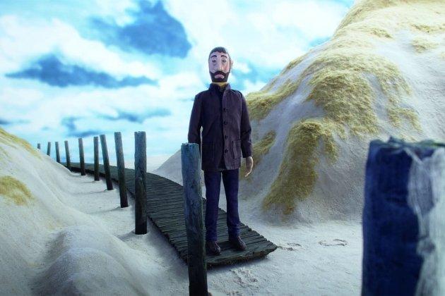 Психоделическая анимация в киноцентре «Родина»