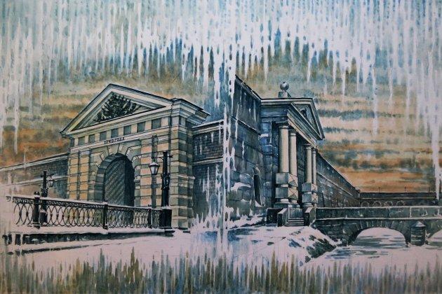 Выставка Валерия Александрова «Петербург и его окрестности»