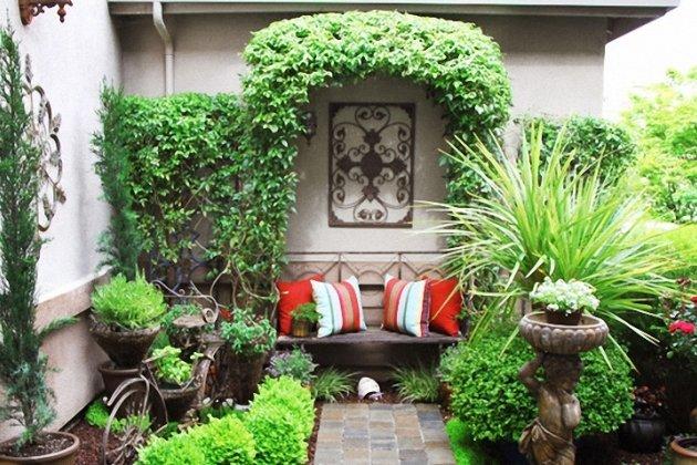 Как сделать двор уютным