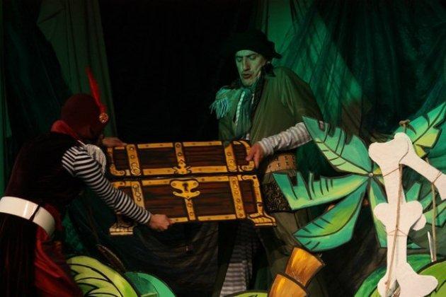 Детский интерьерный мюзикл «Тайна сокровищ» на Бригантине приключений