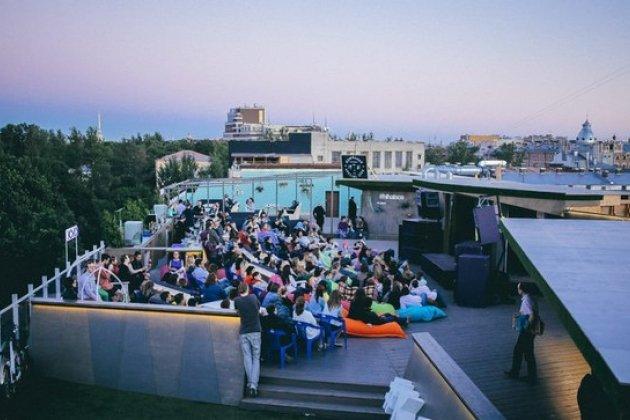 Фестиваль французского кино на петербургской крыше