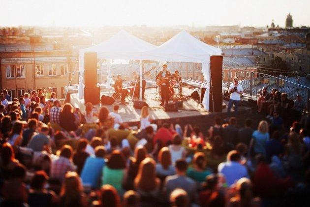 Открытие Roof Music Fest