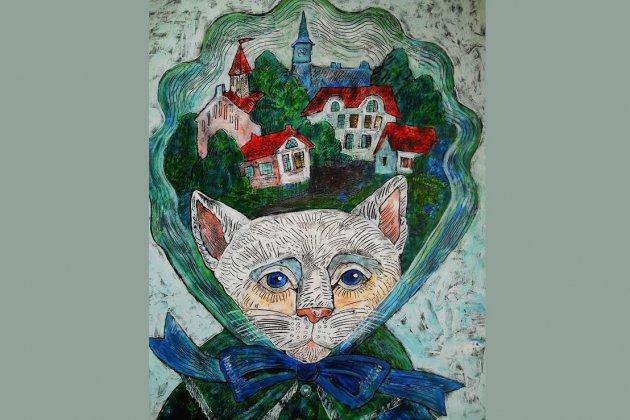 Выставка графики «Все мы немного Кошки и Коты»