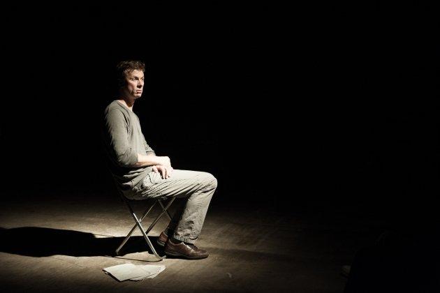 Театр «Практика» представляет «Человек DOC. Олег Кулик. Игра на барабанах»