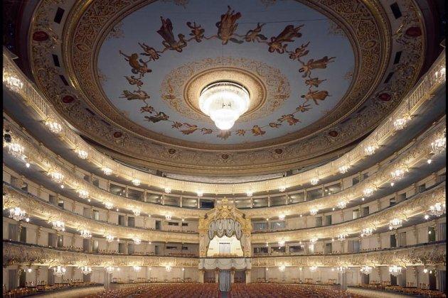 Закулисье Мариинского театра