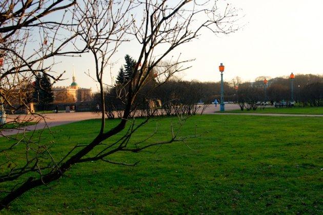 Вечный огонь на Марсовом поле в Санкт Петербурге фото